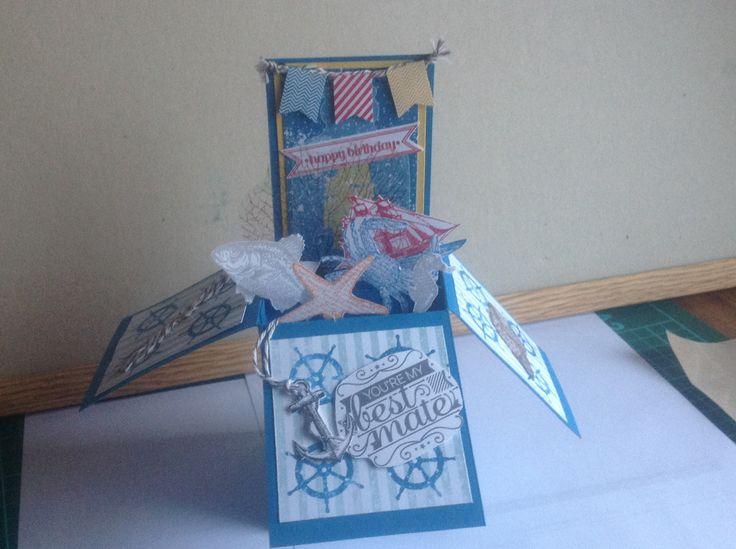 Male box card
