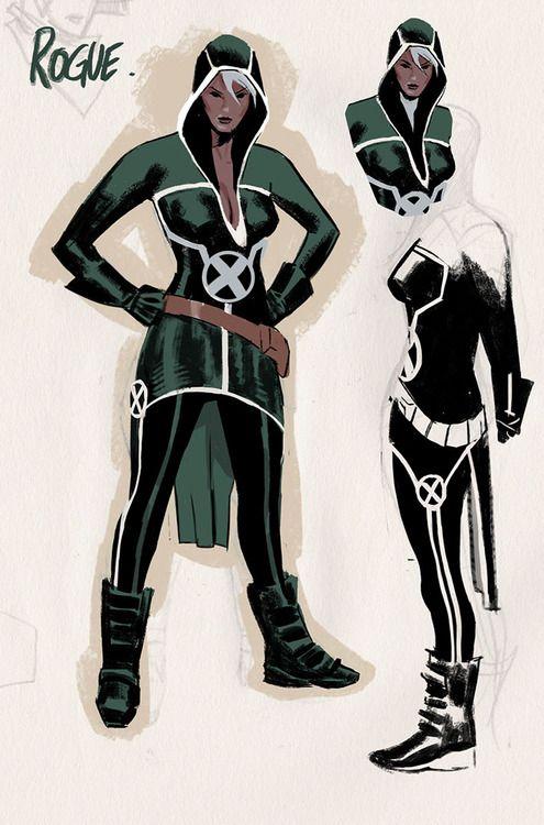 Rogue (Circa Uncanny Avengers 2015) by Daniel Acuna