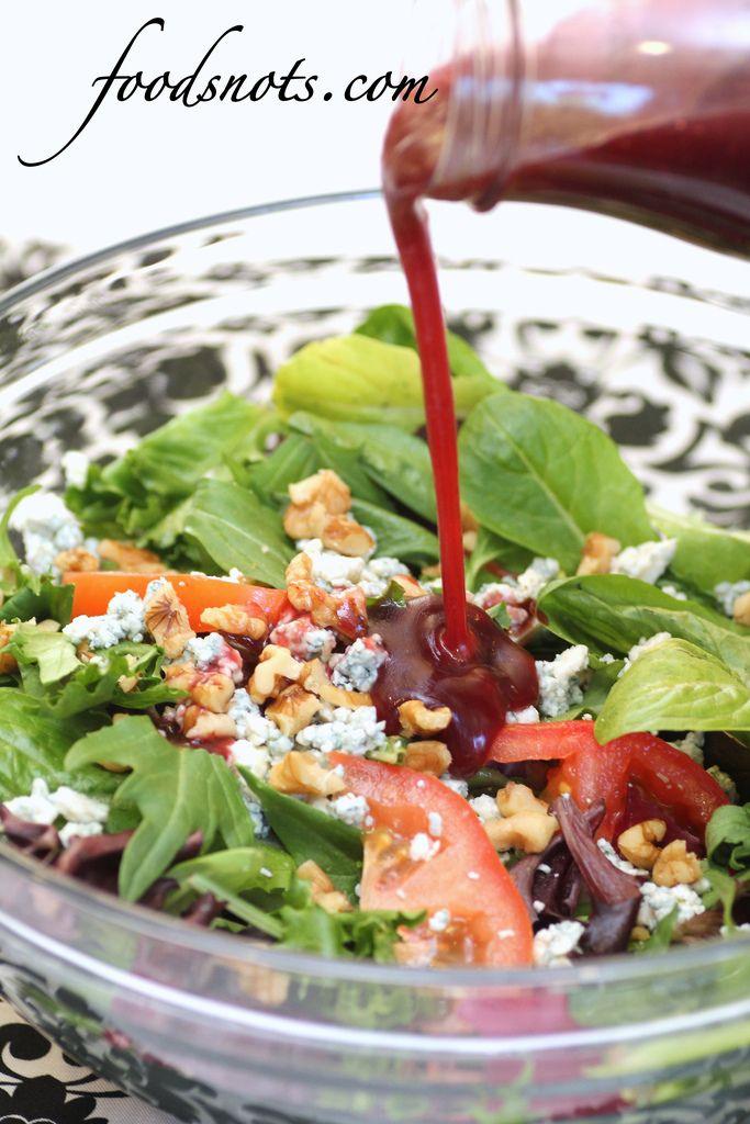 California Salad « Recipe Snobs.... Raspberry Vinaigrette