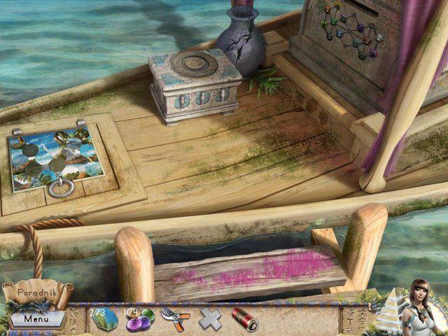 Gra «Riddles of Egypt» 11.03.2017 http://pl.topgameload.com/?cat=casualpcgames&act=game&code=10029  Straszny Mrok spowił Egipt! Czy uda Ci się rozwiązać starożytnie łamigłówki i rozplątać zawiłe zagadki, żeby zwyciężyć to zło? Starożytni Egipt, epoka faraonów. Mrok grozi ziemi. Kapłani podstępem zwabili tą tajemniczą siłę i zamknęli ją głęboko pod ziemię, gdzie było jej sądzone przebywać w wiecznym śnie podziemia. Egipt, 1932 rok, czas przygód. Minęło 3000 lat, zło się obudziło i teraz tylko…
