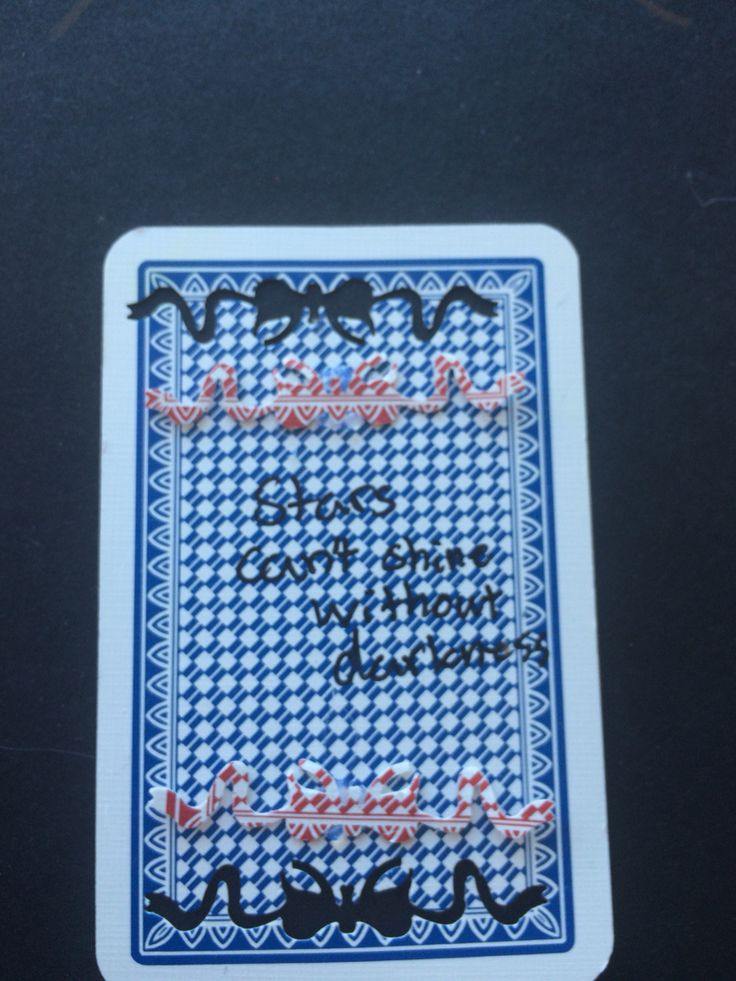 Playcard art