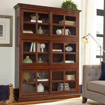 Best 25 Glass Door Bookcase Ideas On Pinterest Living