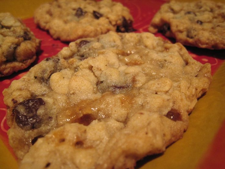 Oatmeal Chocolate Chip Toffee Cookies | Cookies | Pinterest