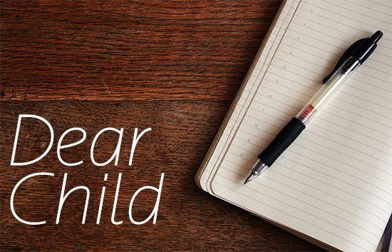 Letters to our children. http://www.kidsactivitiesandtipsforeveryday.blogspot.com.au/
