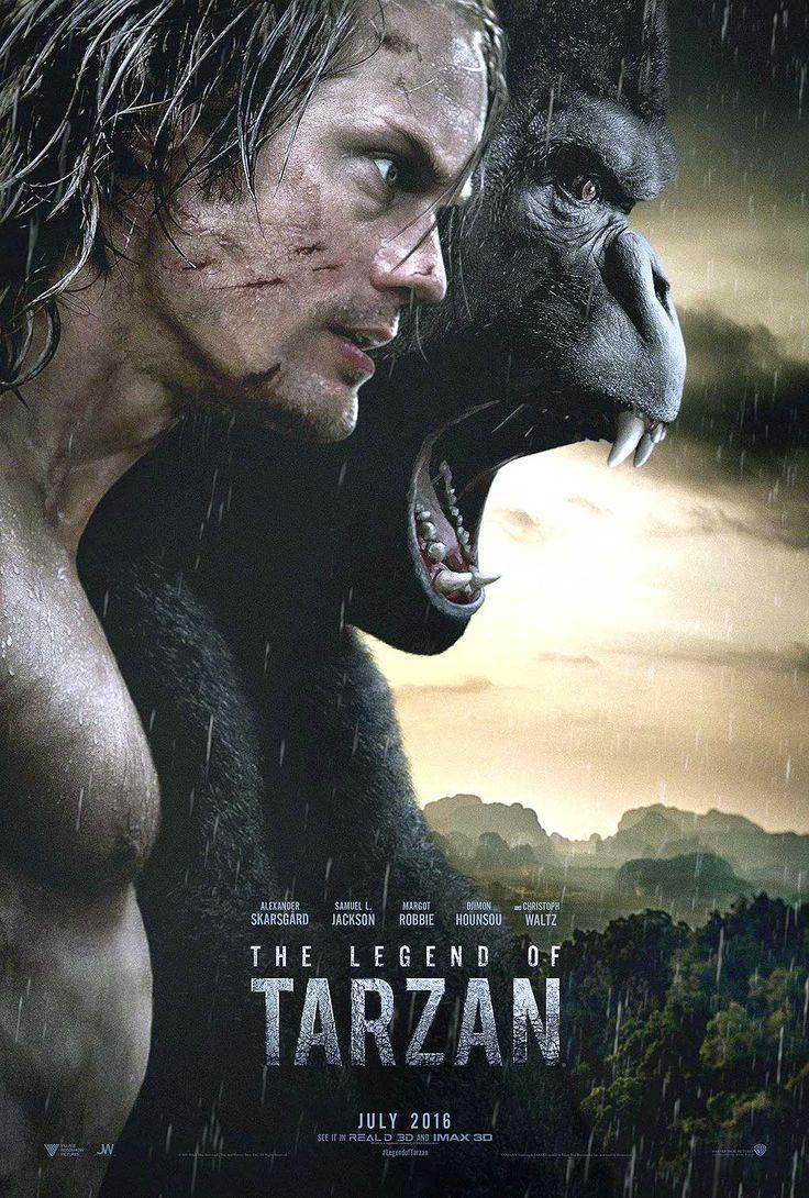 La Légende de Tarzan avec Alexander Skarsgård - Affiche