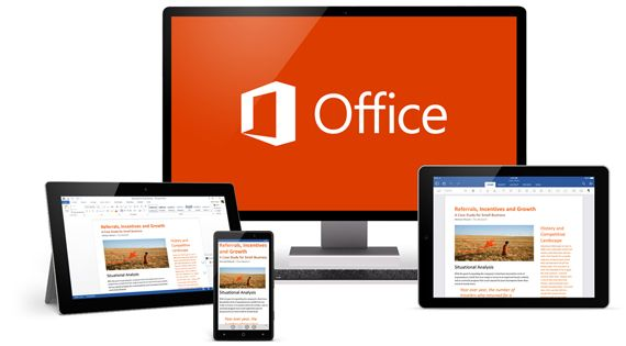 Office 365 works with your PC, iPhone or iPad. Love it.