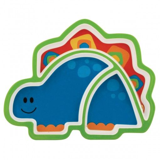 Dino Melamine Tray Possum Pie Stephen Joseph Arts and Crafts, Gifts and Toys, Bags and Backpacks