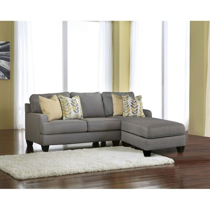 Lowest price online on all Signature Design by Ashley Furniture Chamberly 2 Piece Sectional Sofa in Alloy - 24302-55-17-KIT