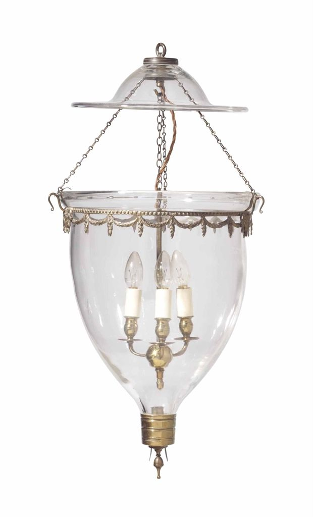 AN ENGLISH BRASS AND GLASS HANGING LANTERN, PARTS 19TH CENTURY AND ADAPTED. Antique  LanternsAntique ChandelierAntique ... - 271 Best ♔ - Antique Chandeliers Images On Pinterest