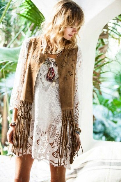 That Perfect Boho Jacket Look.