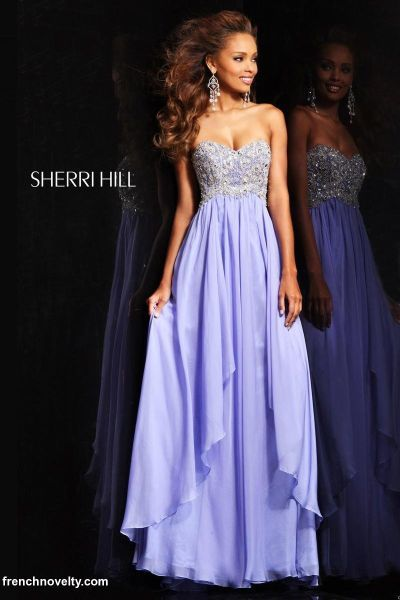 Alternate view of the Sherri Hill 3862 Beaded Bodice Formal Dress image