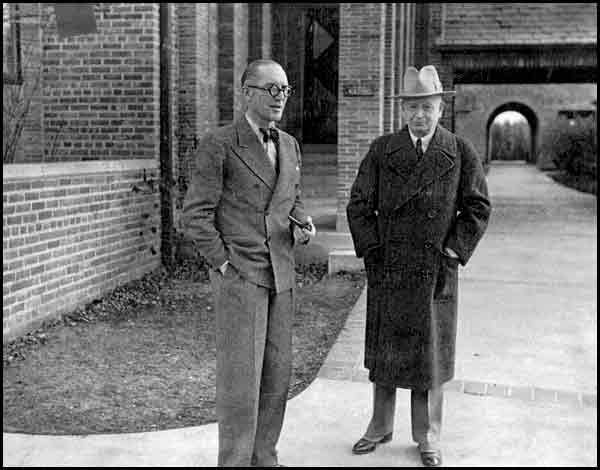 Eliel Saarinen with LeCorbusier Cranbrook Academy of Art