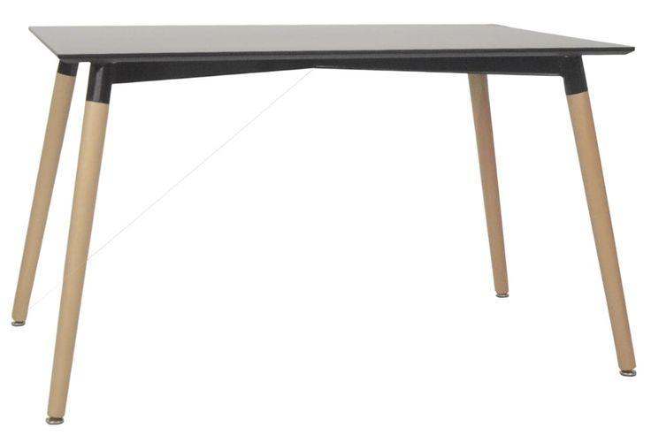 Vincente Dining Table-Black (Large)