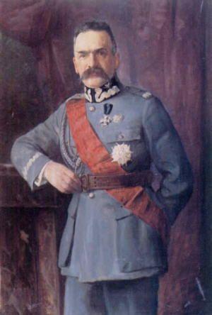 Józef Piłsudski ,First Marshal of Poland