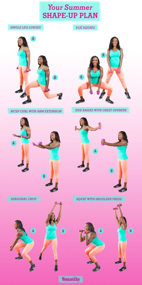 This weeklong walking routine combines strengthening moves with calorie-burning cardio and heart-pumping interval walks to get you beach-ready and into shape for summer.