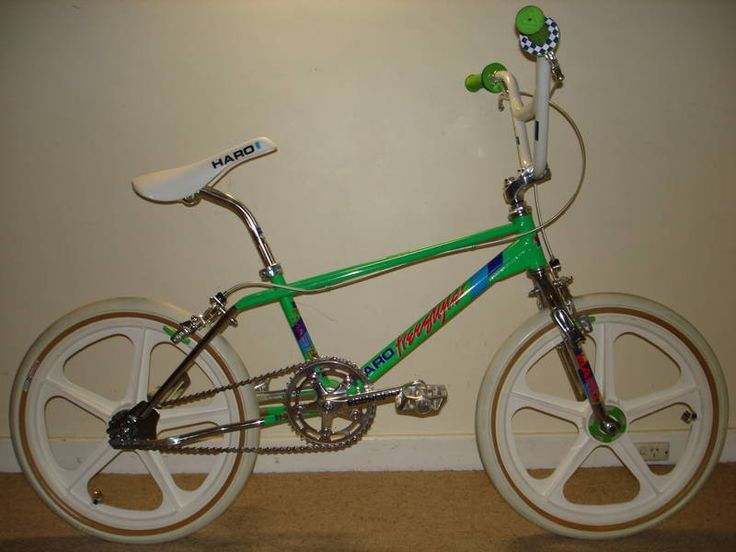 early Haro Master freestyle bike!