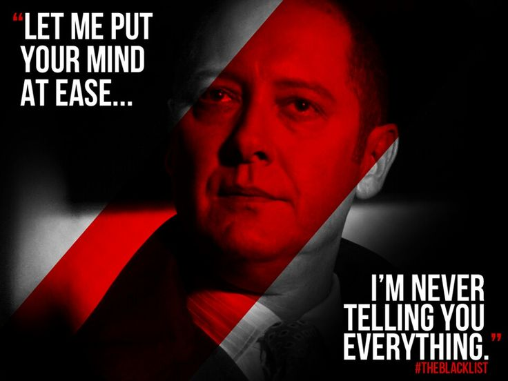 Blacklist Quotes Impressive 49 Best The Blacklist Oh Red Images On Pinterest  The .