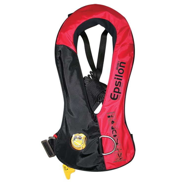 The Epsilon inflatable life jacket provides optimal protection whilst  allowing maximum freedom of movement and comfort with high performance.