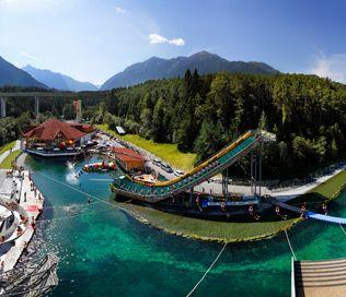 Het water outdoorpark in Tirol!