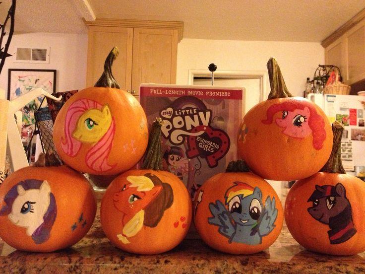 My Little Pony Pumpkins Halloween Pinterest Pony