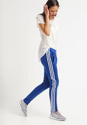 adidas femme pantalon bleu