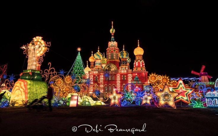 Magical Winter Lights festival in Houston