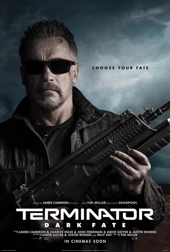 Terminator Dark Fate Movie Poster Glossy Print Photo Wall Art Linda Hamilton Arnold Schwarzenegger Size 8x10 11x17 16x20 22x28 24x36 27x40 2 Fate Movie Terminator Movies Terminator