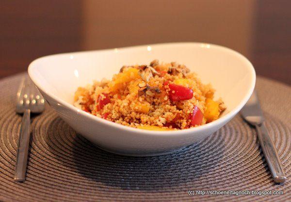 Couscous mit Mango und Paprika