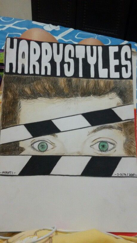 My first Drawing #HarryStyles