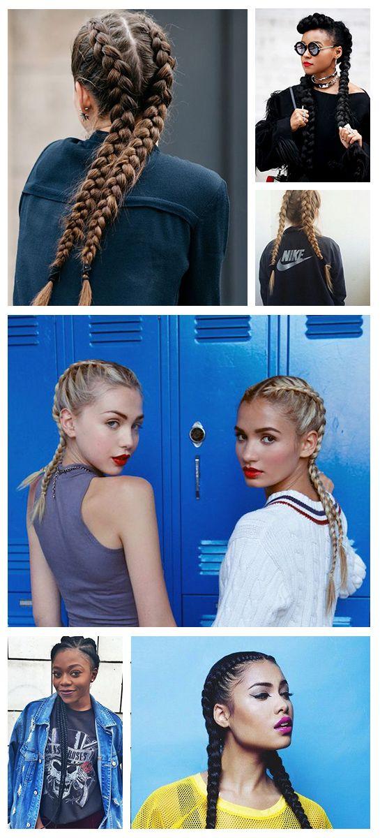 Trend: Boxer braids #salonbnl #boxerbraids #french…