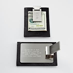 hidden message money clip wallet  #redenvelope #fathersday