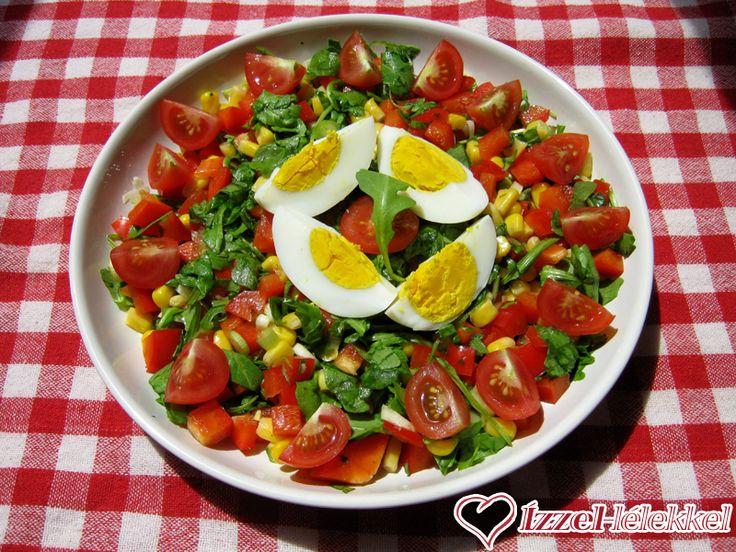 Vidám rucola saláta