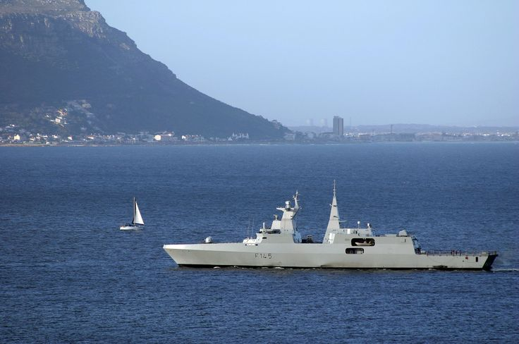 South African Navy Valour Class Frigate - From Avia Nautica