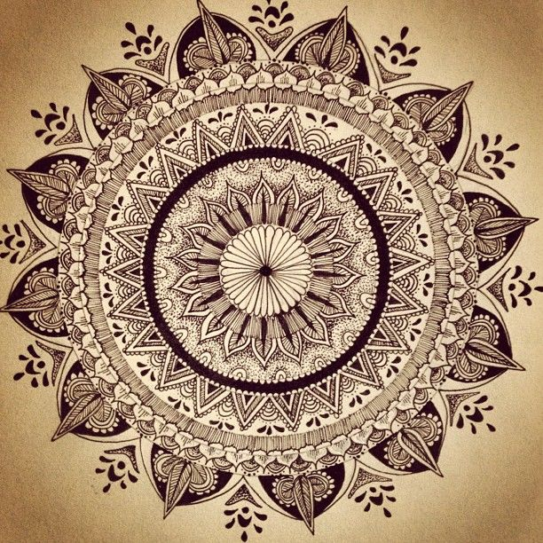 mandala. - Pinned by The Mystic's Emporium on Etsy