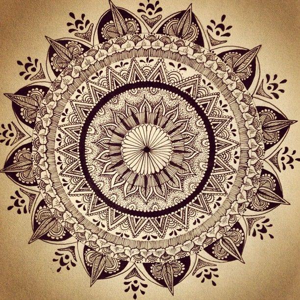 mandala. - Pinned by The Mystic's Emporium on Etsy