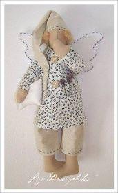 Andělé - výška 40 cm | LIZA DECOR - ručně šité dekoraceAndělé - výška 40 cm