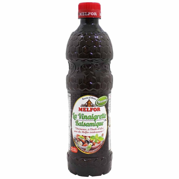 Melfor Balsamic Vinaigrette 16.9 fl. oz. (499 ml)