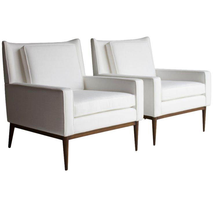 Great Paul Mccobb Lounge Chairs For Directional Inc