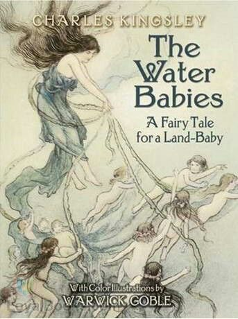 The Water-Babies, A Fairy Tale for a Land Baby is a children's novel by the Reverend Charles Kingsley. Written in 1862–63 as a serial for Macmillan's Magazine, it was first published in its entirety in 1863. It was written as part satire in support of Charles Darwin's The Origin of Species. The book was extremely popular in England, and was a mainstay of British children's literature for many decades, but eventually fell out of favour in part due to its prejudices (common at the time)…