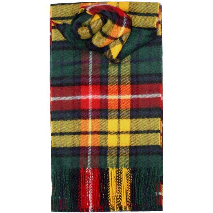 Schal aus gekämmte Wolle