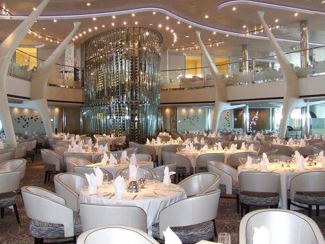 Dining on the Celebrity Solstice Cruise Ship: Celebrity Solstice - Grand Epernay Restaurant