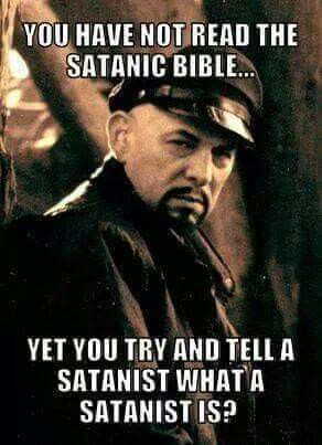 I watched a documentary on the church of satan. I didnt know what exactly that entailed... Curiosity led me to knowledge of a VERY taboo religion. Yet i was still debated on what that religion is. Knowledge is stronger than ignorance and assumptions!