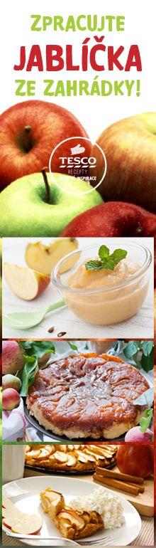 Zpracujte jablíčka ze zahrádky podle našich receptů!