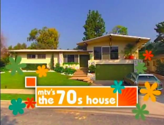 "But you may not know that in 2005, MTV helped pioneer the ""teens react"" format with a one-season wonder reality show, The '70s House. 