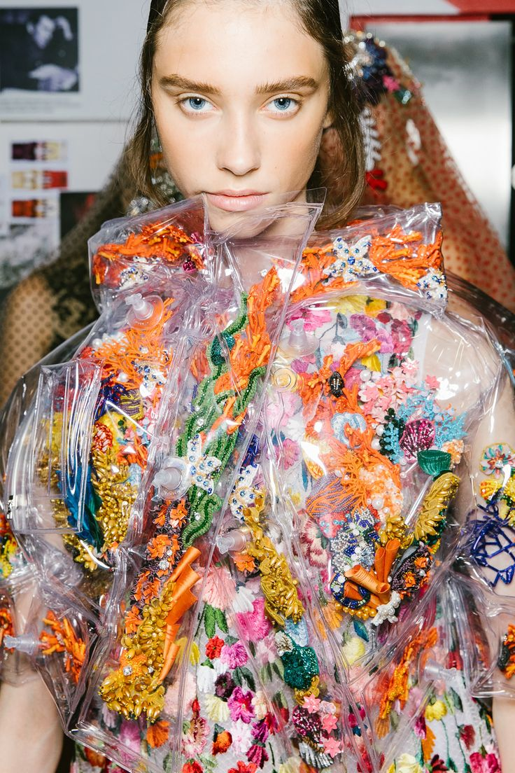 The Best Backstage Photos From London Fashion Week Spring