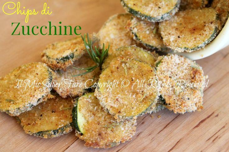 Chips di zucchine croccanti al forno   Zucchine sabbiose