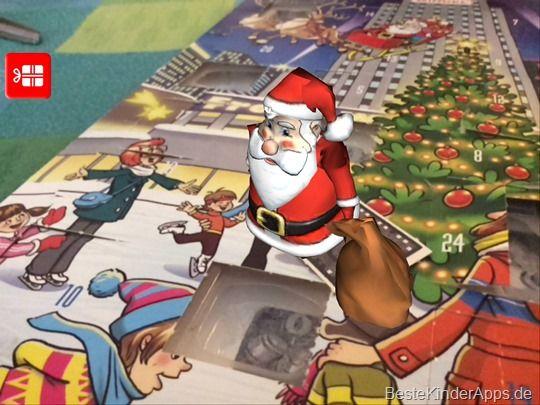 App Adventskalender Augmented Reality Weihnachtsmann (2)