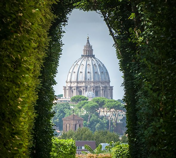 For one week this September, Pope Francis will trade umbrella pines and St…