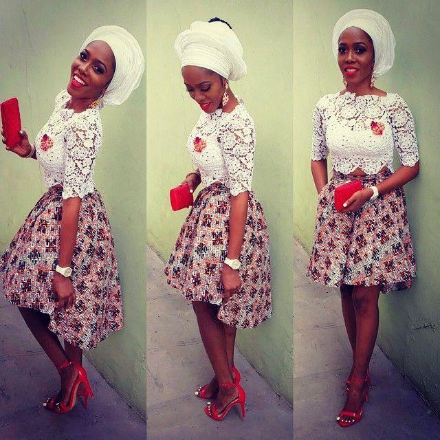 Style by @yomisummerhues  #selectastyle #asoebibella #weddingdigestnaija #bellanaija #asoebi #fashion #stylerepost #style