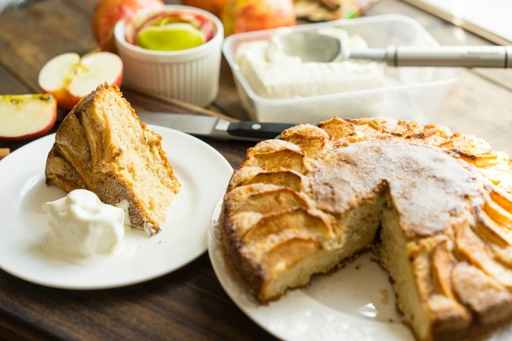 Очень вкусный и простой яблочный пирог